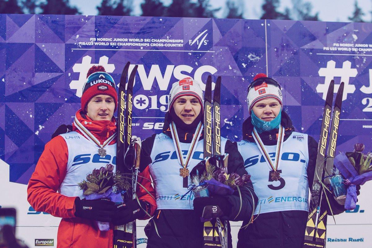 Valnes and Lundgren take under-23 sprint wins at FIS Nordic Junior World Ski Championships