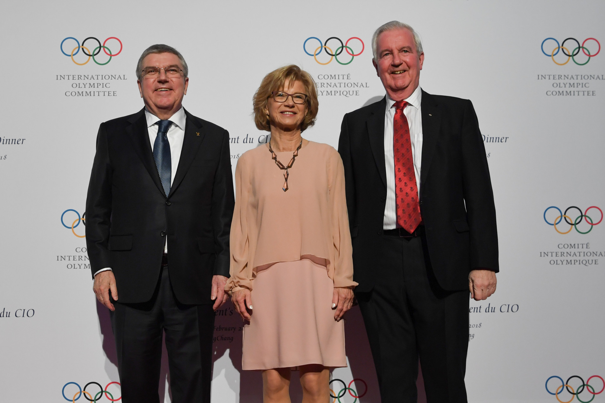 IOC President Thomas Bach and WADA counterpart Sir Craig Reedie are both desperate for the saga to end ©Getty Images