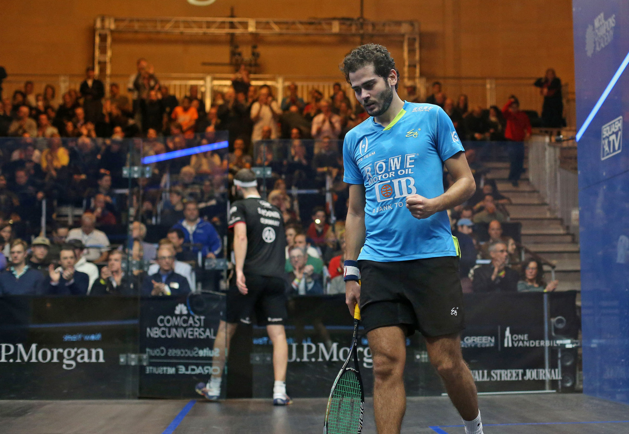 Gawad beats defending champion Rösner to reach semi-finals at PSA Tournament of Champions