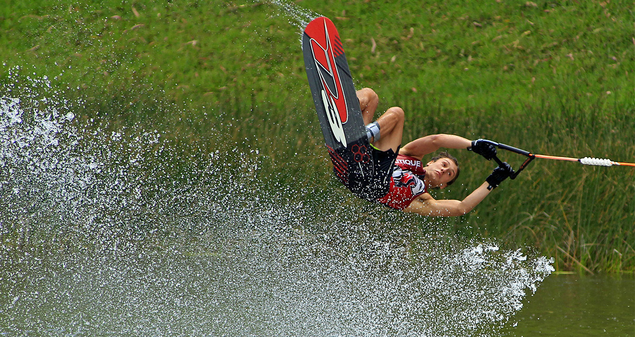 Lima 2019 venue plays host to Peru's National Water Ski Championship