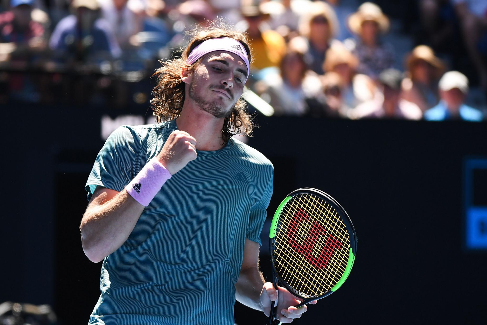 Tsitsipas advances at Australian Open to become youngest men's Grand Slam semi-finalist since 2007