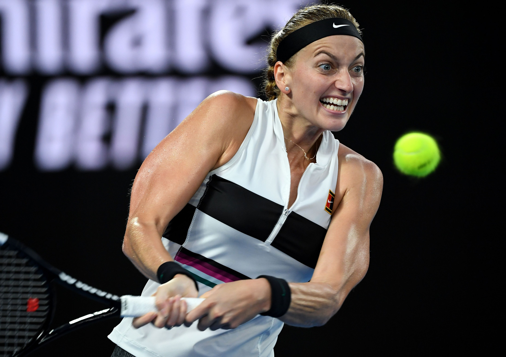Petra Kvitova impressed during her quarter-final ©Getty Images