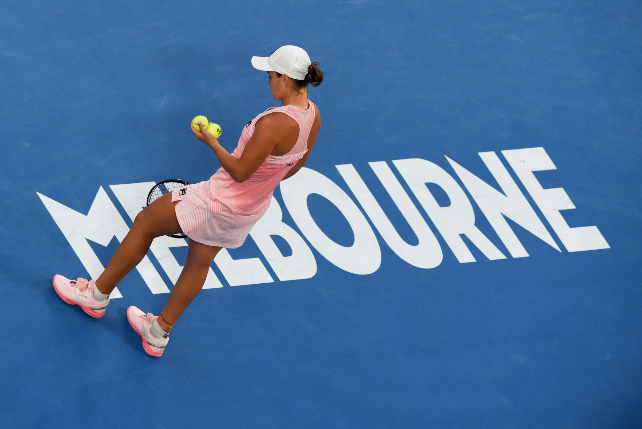 She overcame Australia's Ashleigh Barty in straight sets ©Getty Images