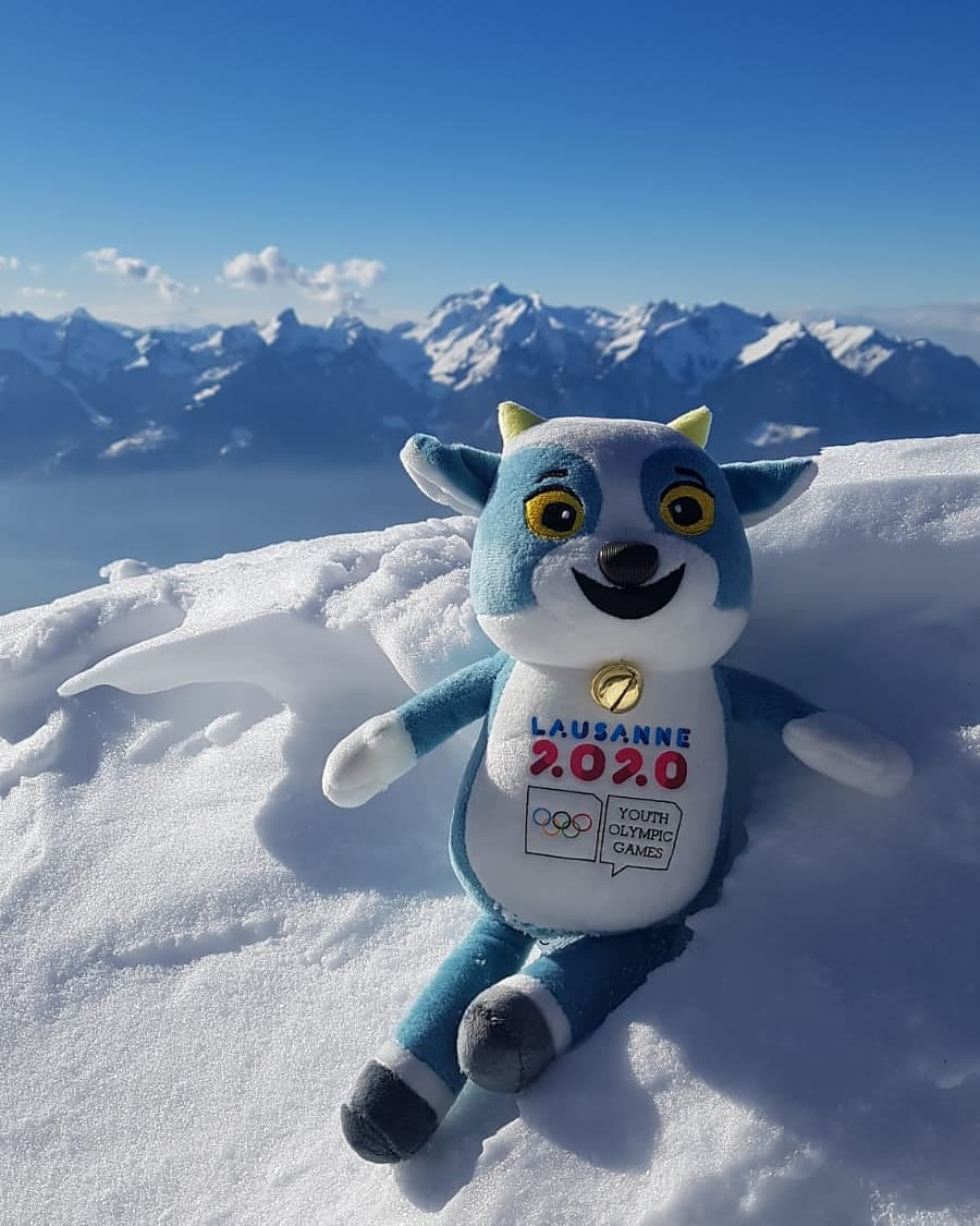 The Coordination Commission also visited Leysin, the freestyle ski and snowboarding venue for Lausanne 2020 ©Twitter