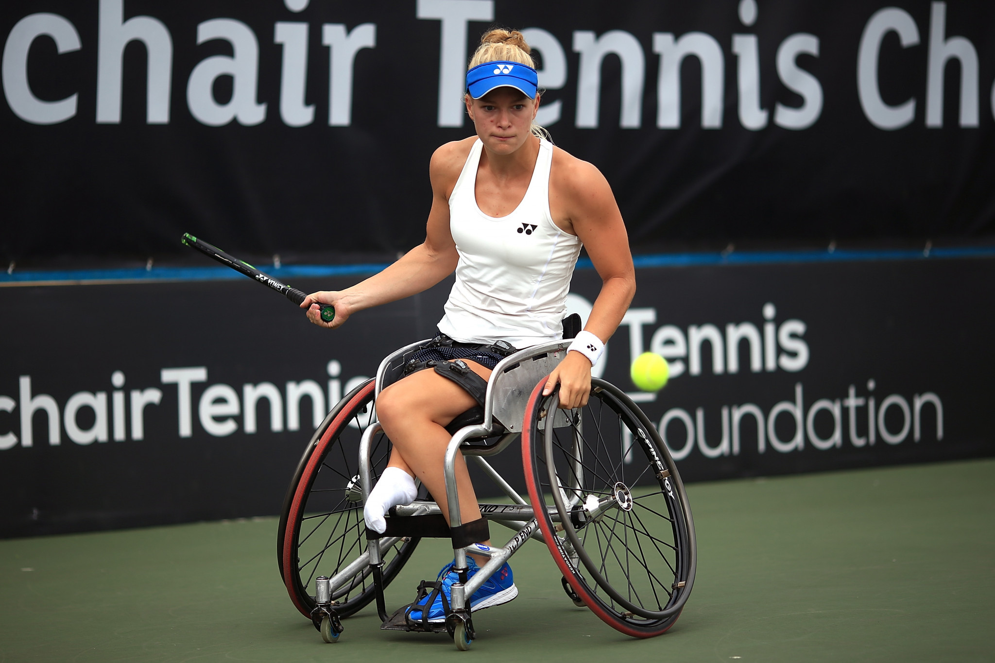 The Netherlands' Diede de Groot is the reigning champion in the women's singles event ©Getty Images