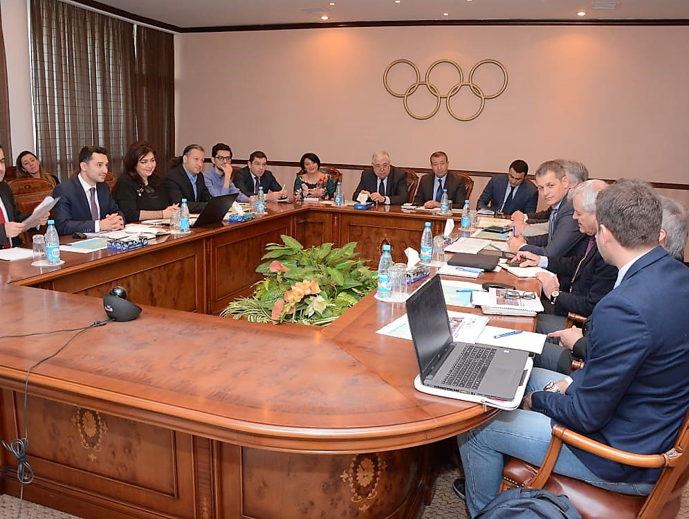 A two-day Coordination Commission meeting took place in Baku ©EOC