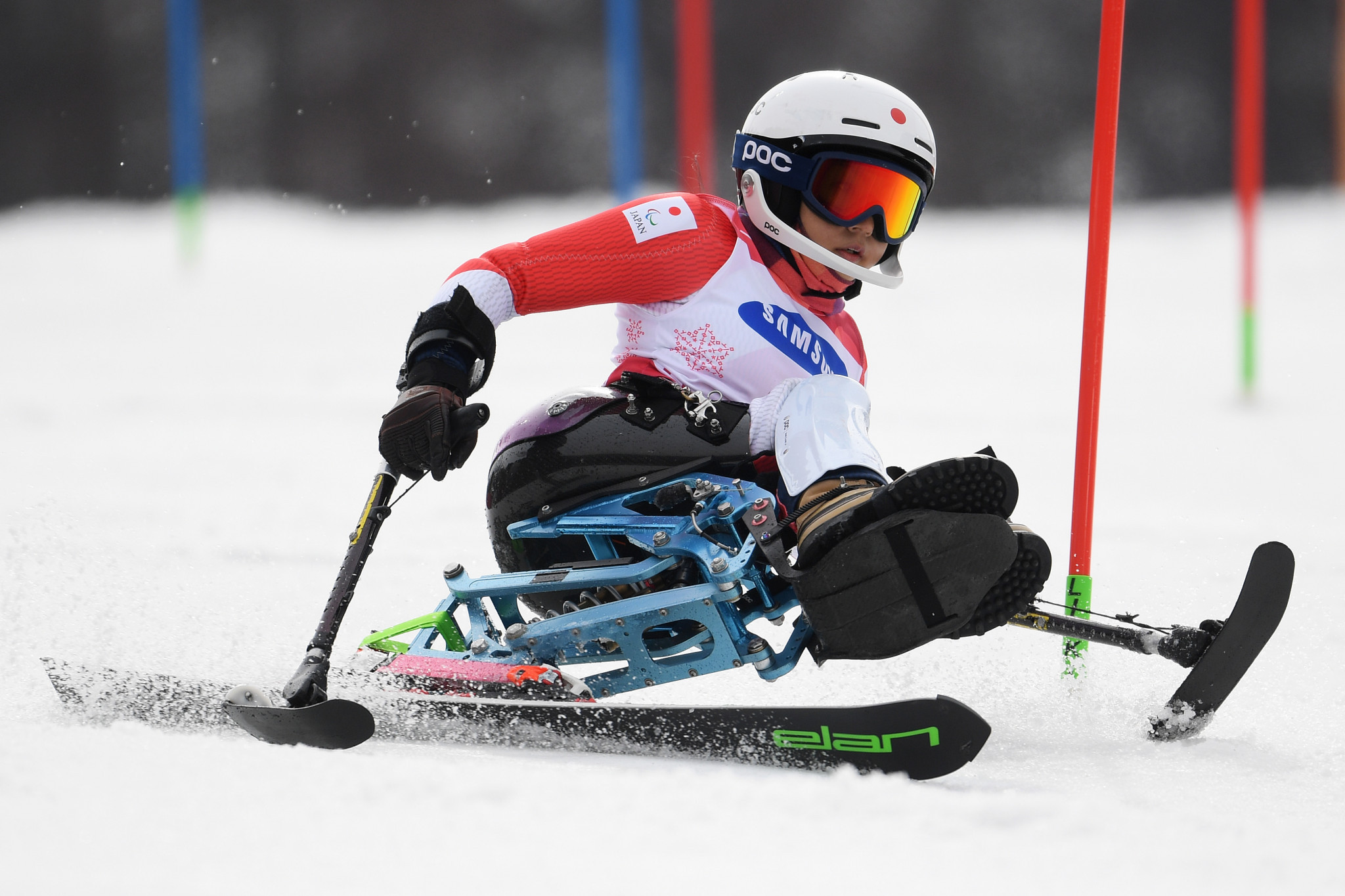 Japanese star crashes German party at World Para Alpine Skiing Championships