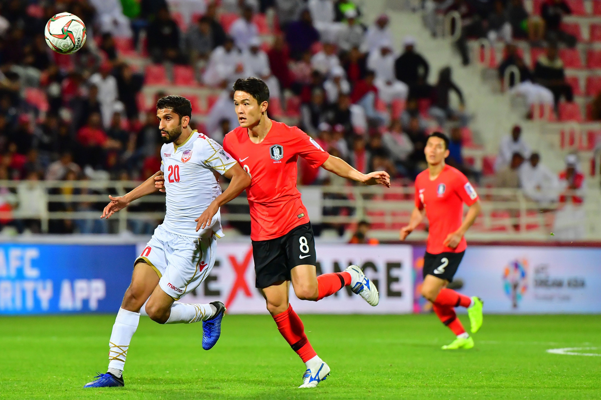 South Korea needed extra-time to edge past Bahrain ©Getty Images