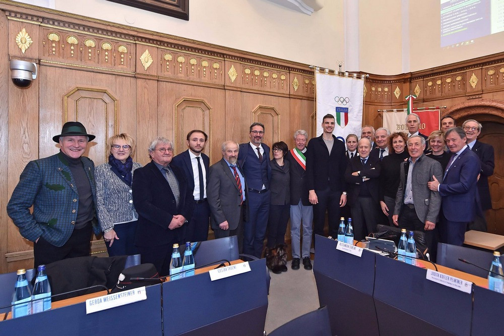 Bolzano played host to the 1,084th meeting of the National Council of CONI ©CONI