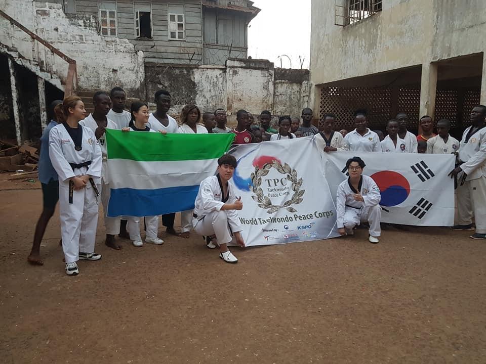 South Korean experts begin taekwondo training course in Sierra Leone