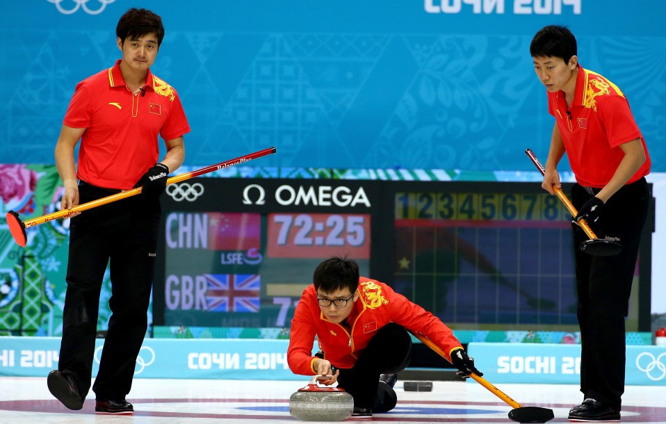China is hoping to boost their curling pedigree before a home Olympics ©Getty Images