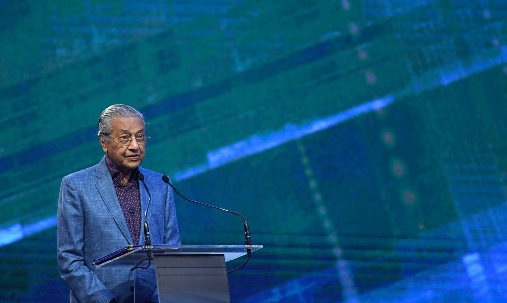 The Malaysian Prime Minister, Mahathir Mohamad, has said that there is