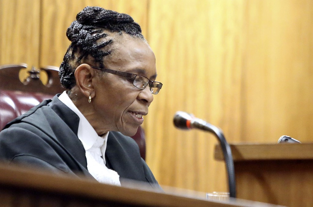 Pistorius still faces a case by prosecutors who are looking to upgrade Judge Thokozile Masipa's verdict to murder