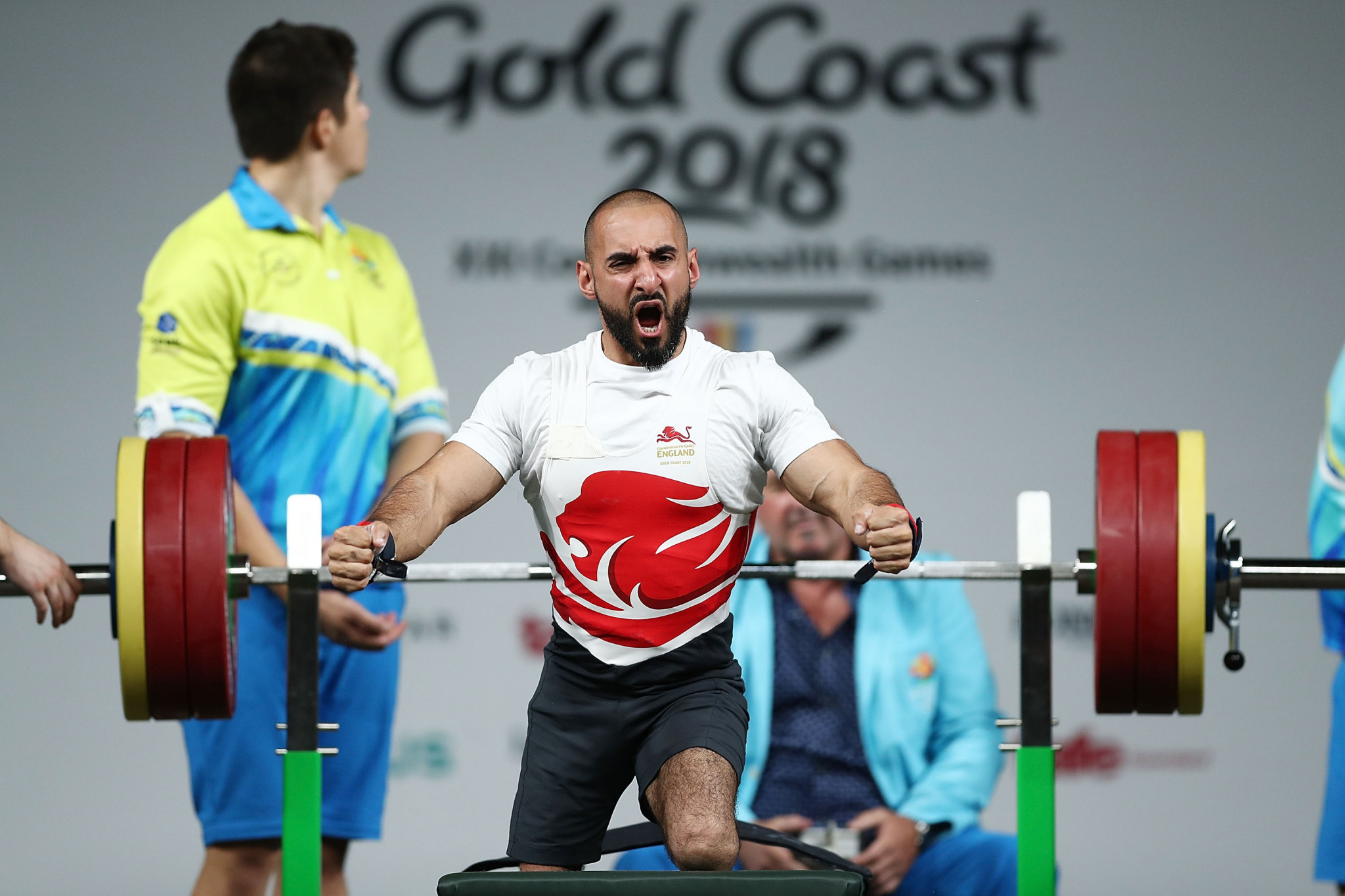 British Paralympic powerlifter Ali Jawad claimed WADA's credibility was in tatters ©Getty Images