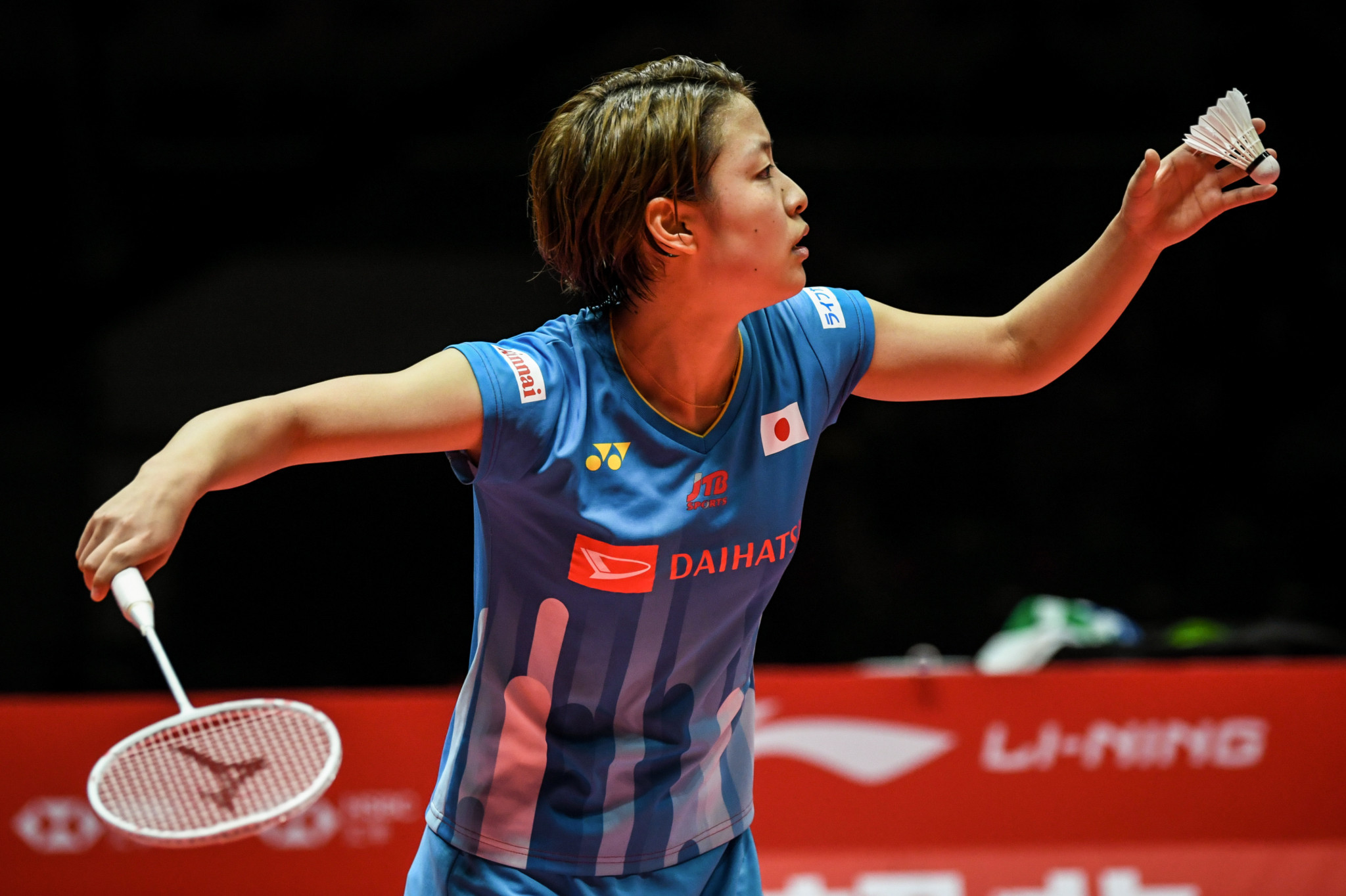 Top seed Okuhara crashes out in first round at BWF Indonesia Masters