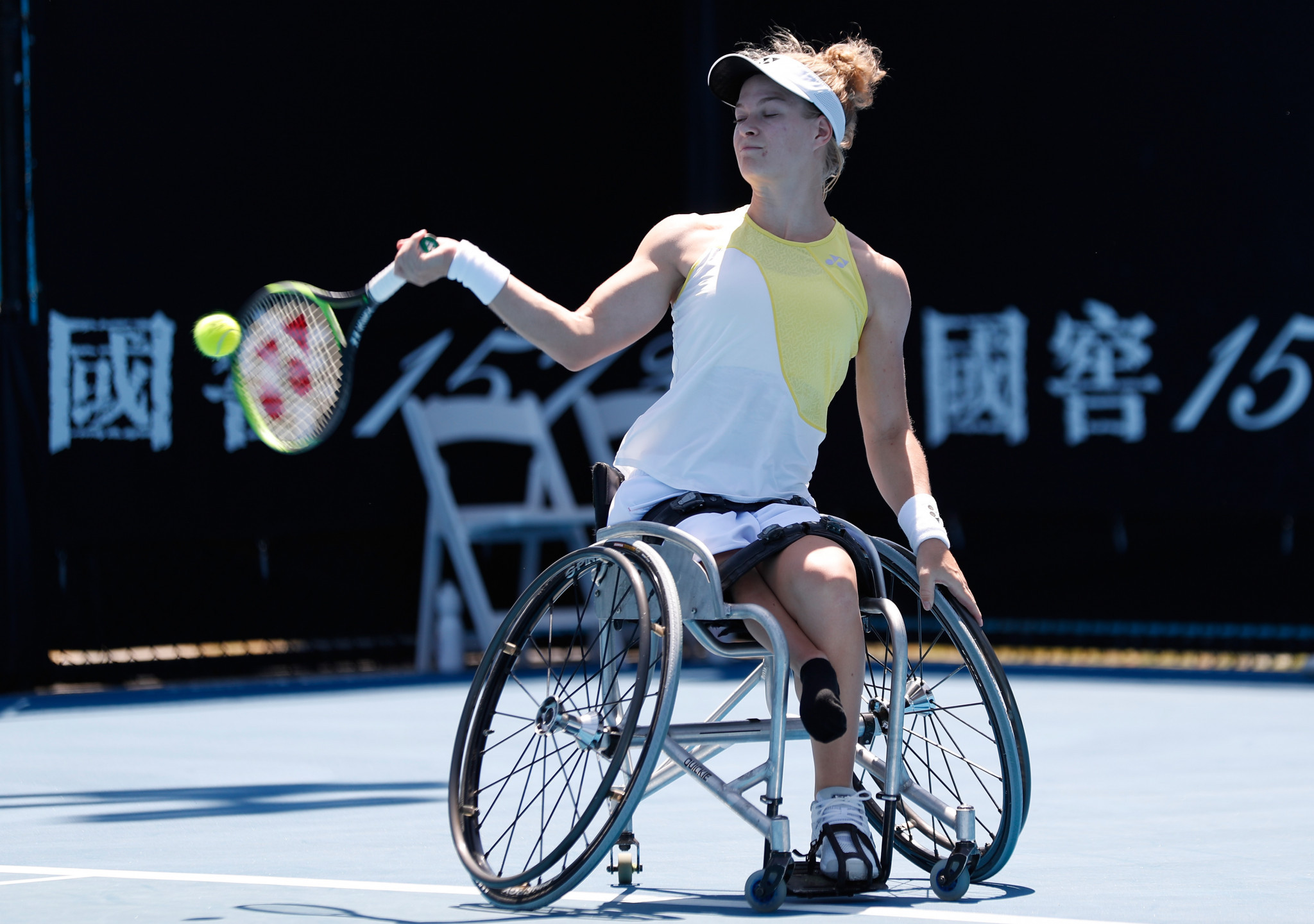 World number one De Groot begins Australian Open wheelchair title defence with victory