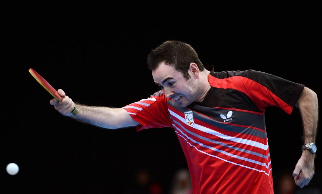 Valera beats home favourite Rosenmeier to gold at Para-Table Tennis European Championships