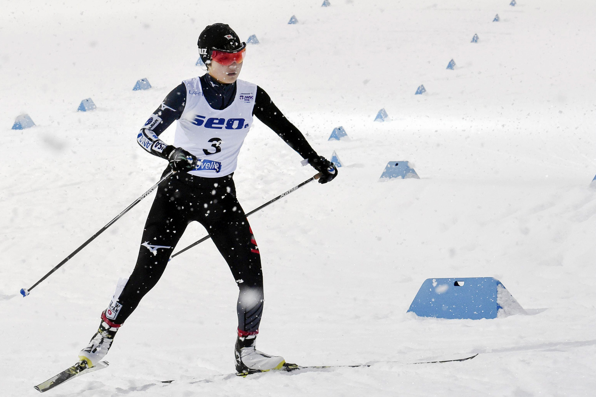 Miyazaki named first-ever female junior world champion in Nordic combined