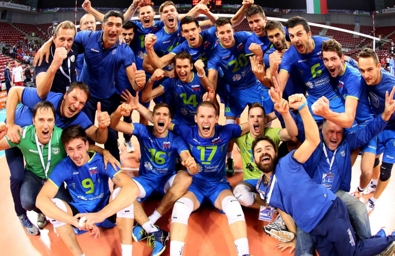 Slovenia stun world champions Poland to earn semi-final spot at Men's European Volleyball Championships