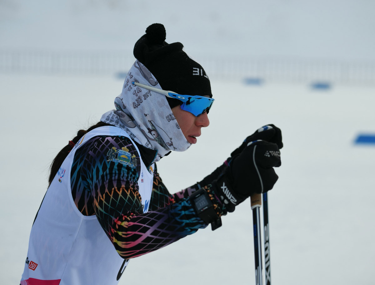 Olga Vokuyeva was also full of praise for the Krasnoyarsk 2019 cross-country skiing venue ©FISU