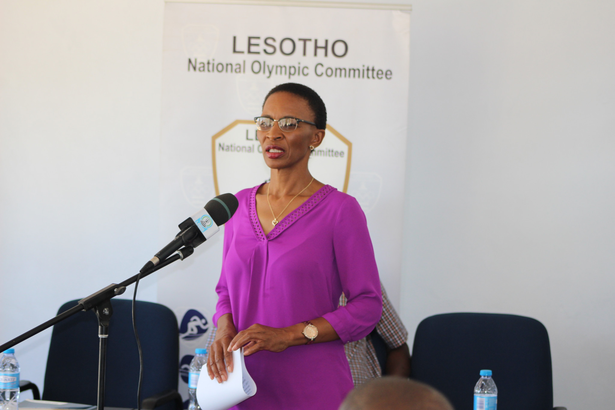 Lesotho Minister of Sport opens country's third Advanced Sports Management Course