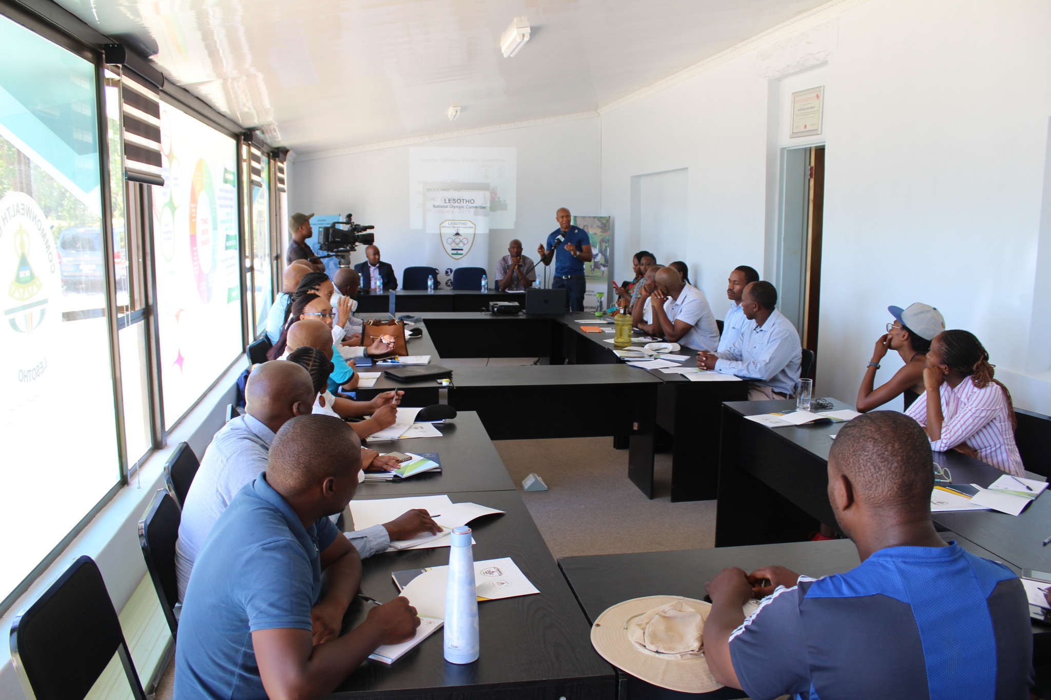Twenty participants will take part in the course which teaches sport administrators how to bring about positive change in sport organisations ©Lesotho National Olympic Committee