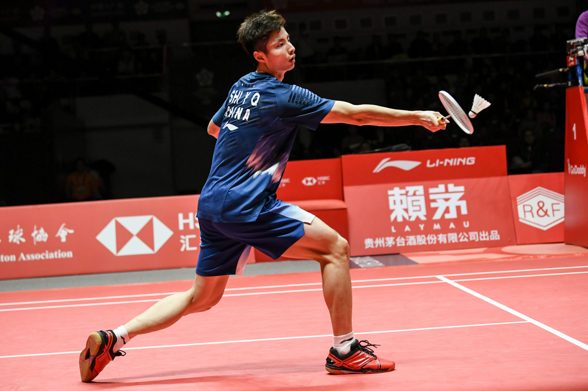 Second seed Shi Yuqi of China suffered elimination from the BWF Indonesia Masters after losing to home favourite Jonatan Christie in Jakarta today ©Getty Images
