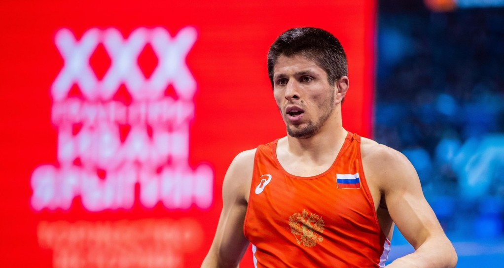 Russia's Magomedrasul Gazimagomedo was one of eight Russian wrestlers who made it to a final at the Ivan Yariguin Grand Prix ©UWW