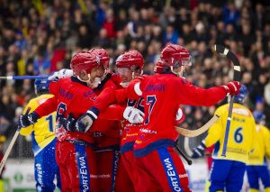 Russia will begin their quest to retain the Bandy World Championship title tomorrow ©FIB