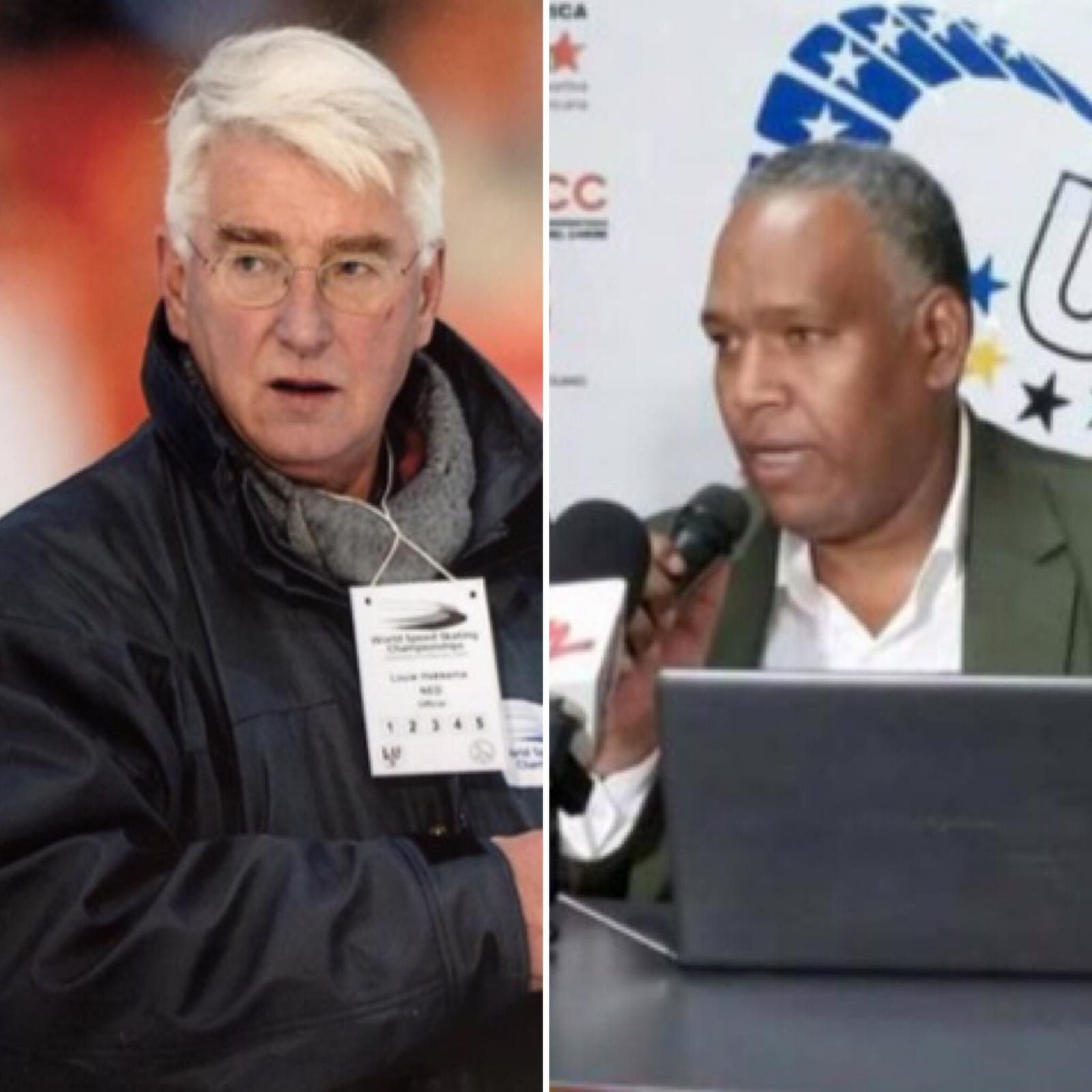 The International University Sports Federation has expressed its condolences following the passing away of Louw Hekkema, left, and Sandy Rodriguez ©FISU