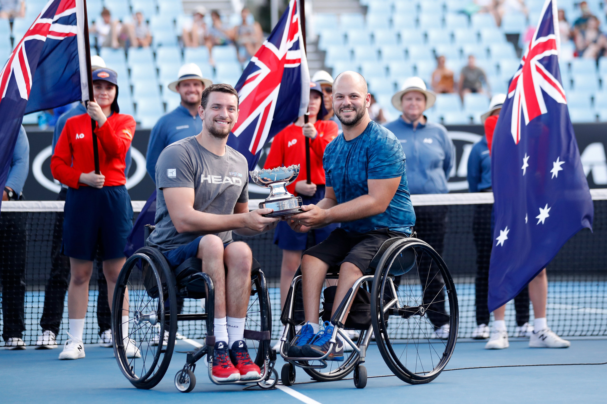 Gerard and Olsson cruise to men's wheelchair doubles title at Australian Open