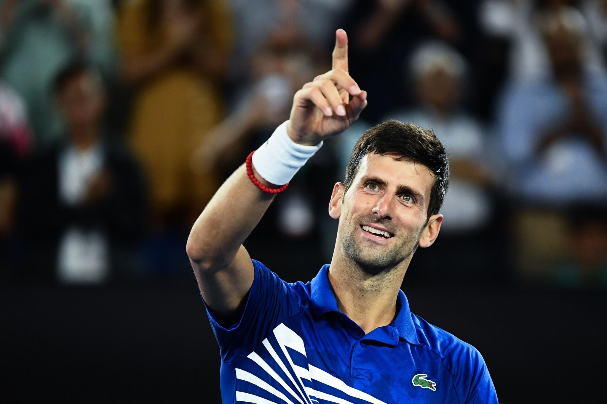 Djokovic dominates Pouille to reach Australian Open final