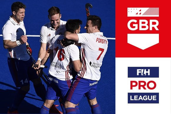 Great Britain's men produce stunning fightback to defeat Spain in FIH Pro League