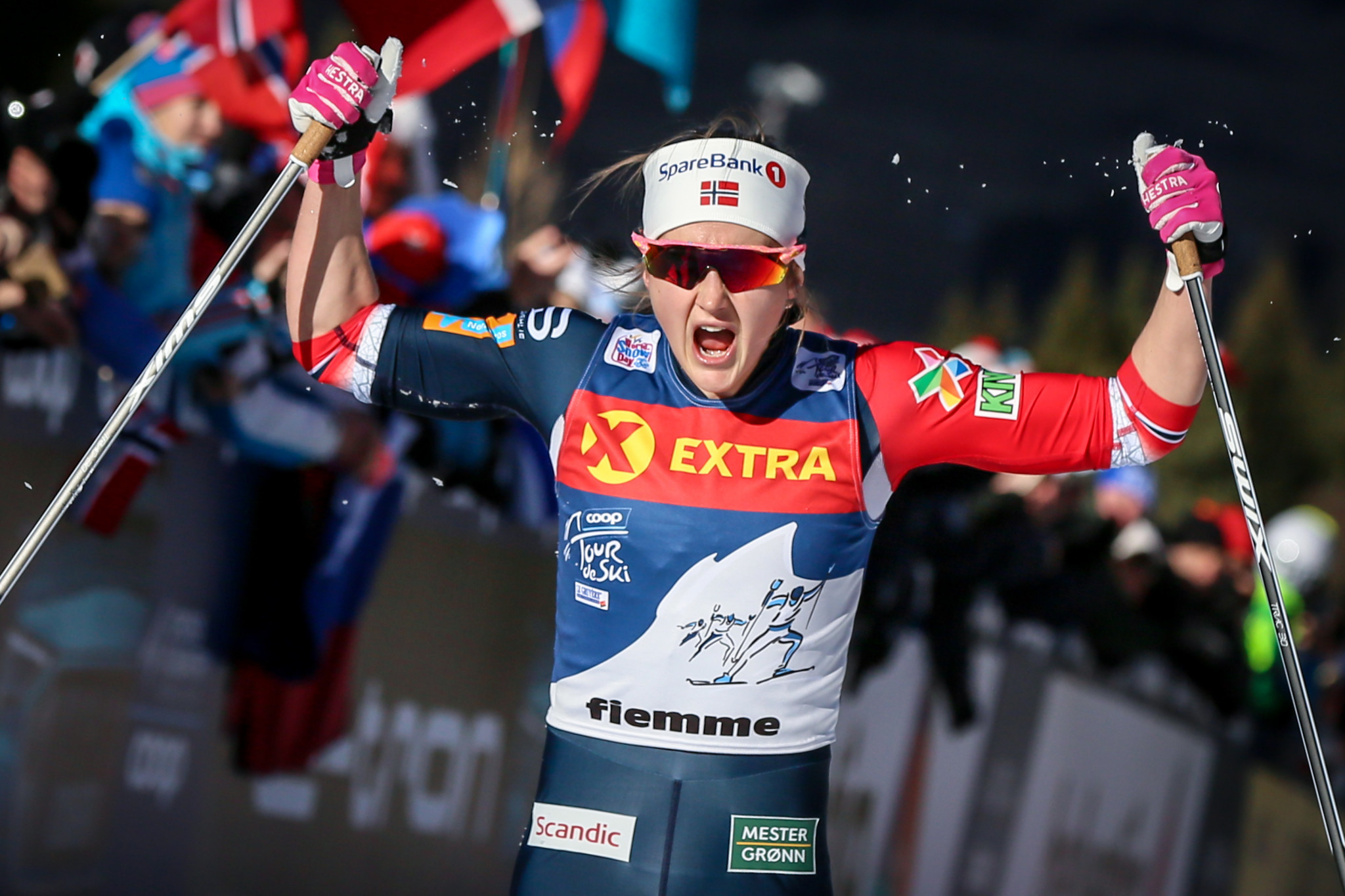 Overall World Cup leader Ingvild Flugstad Østberg will look to regain her winning form in Sweden ©Getty Images