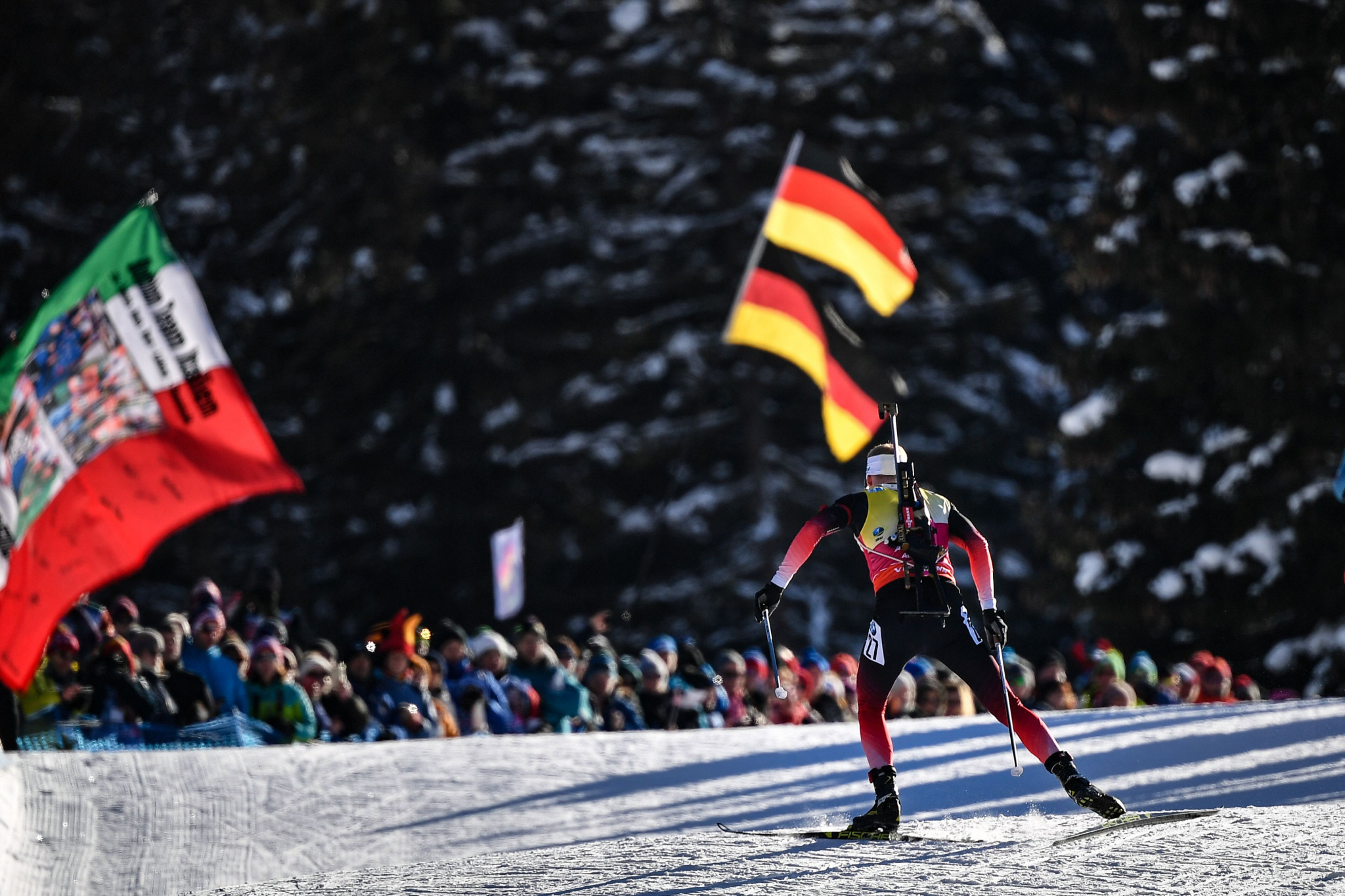 Bø gains 10th win of season at IBU World Cup in Antholz