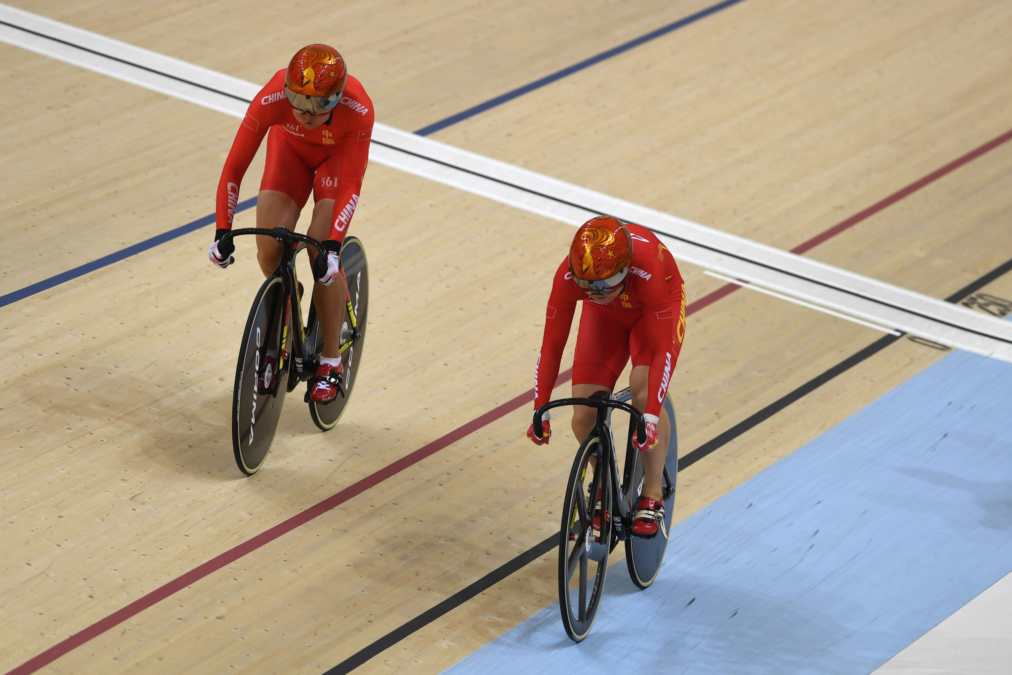 Australia and China take team sprint honours at UCI Track Cycling World Cup in Hong Kong