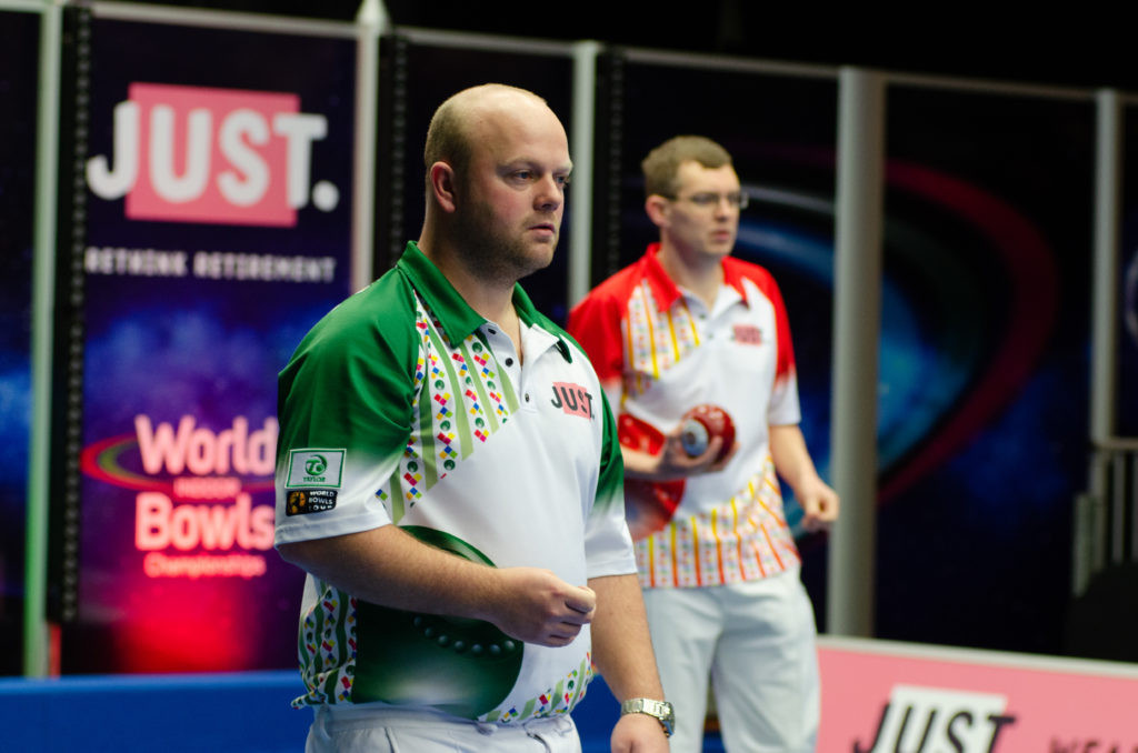 Reigning champion Dawes crashes out of World Indoor Bowls Championships