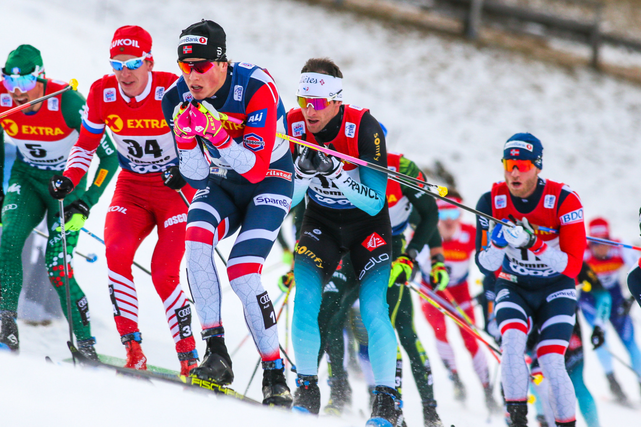Russia dominate cross-country events at FIS Nordic Junior World Championships