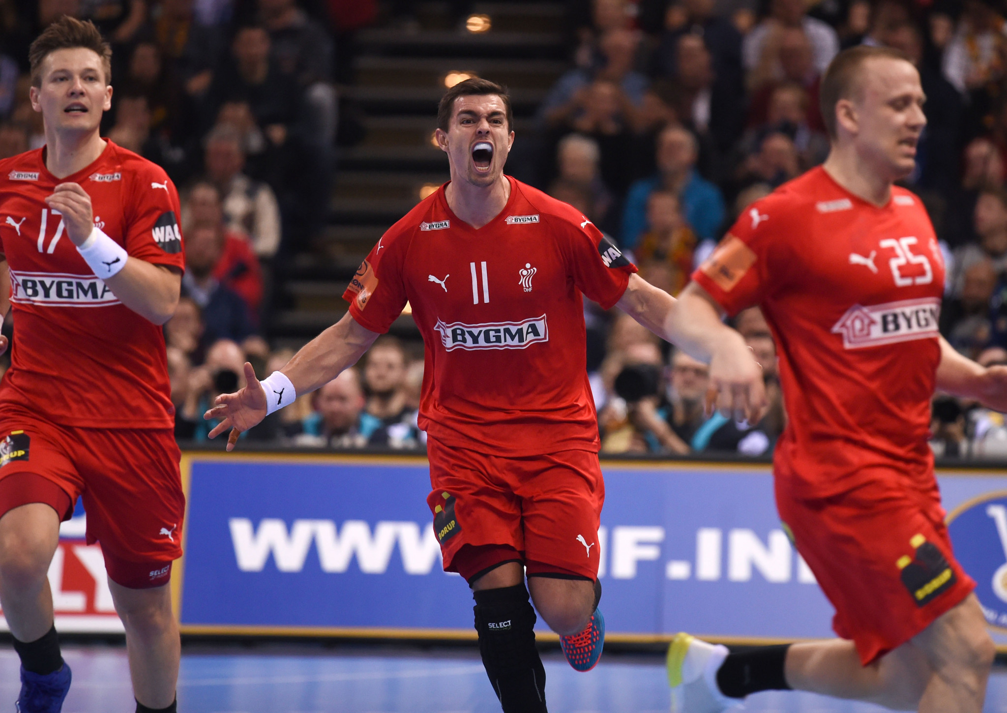 Hosts Denmark knock defending champions France out of IHF Men's Handball World Championship