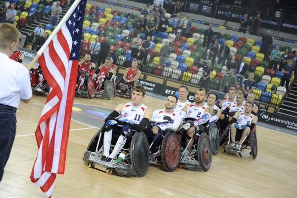 United States stun Paralympic champions Australia to reach BT World Wheelchair Rugby Challenge final