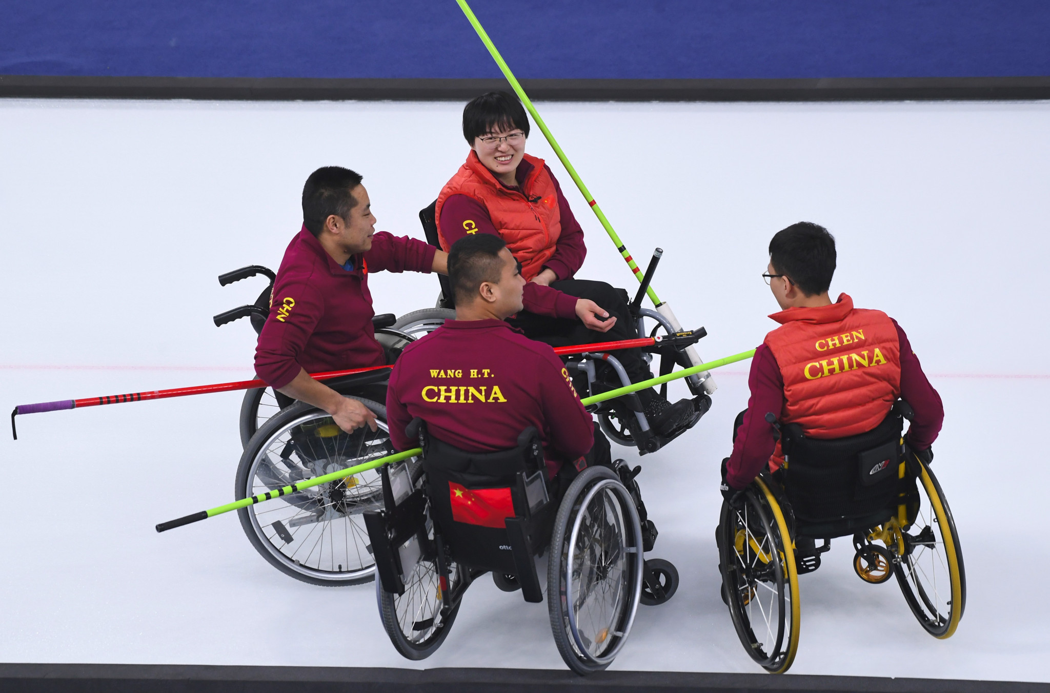 China will hope to add to their sole Winter Paralympic gold, won in wheelchair curling at Pyeongchang 2018 ©Getty Images
