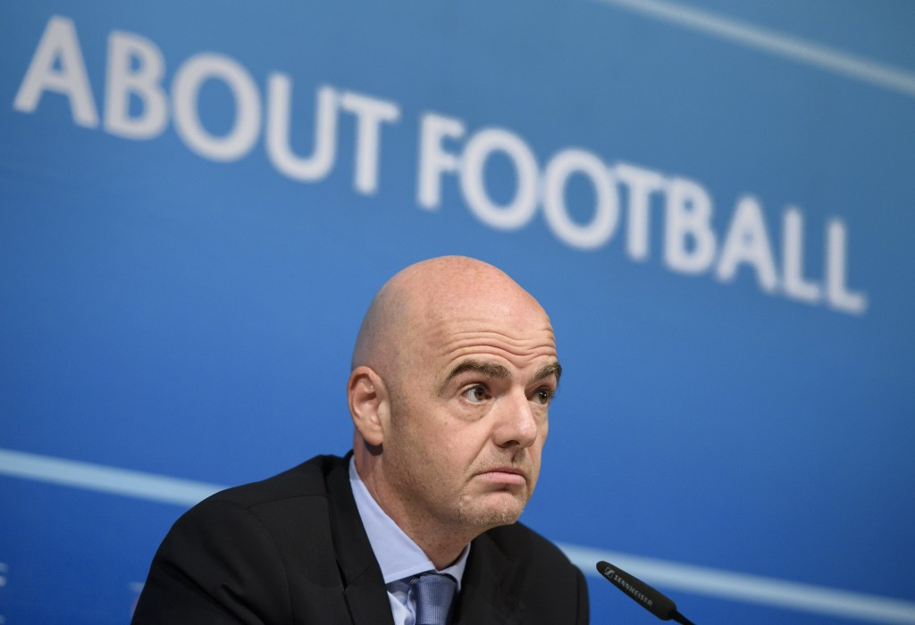 UEFA general secretary Gianni Infantino told a press conference in Nyon that Michel Platini should be given the opportunity to clear his name after he was suspended by FIFA for 90 days