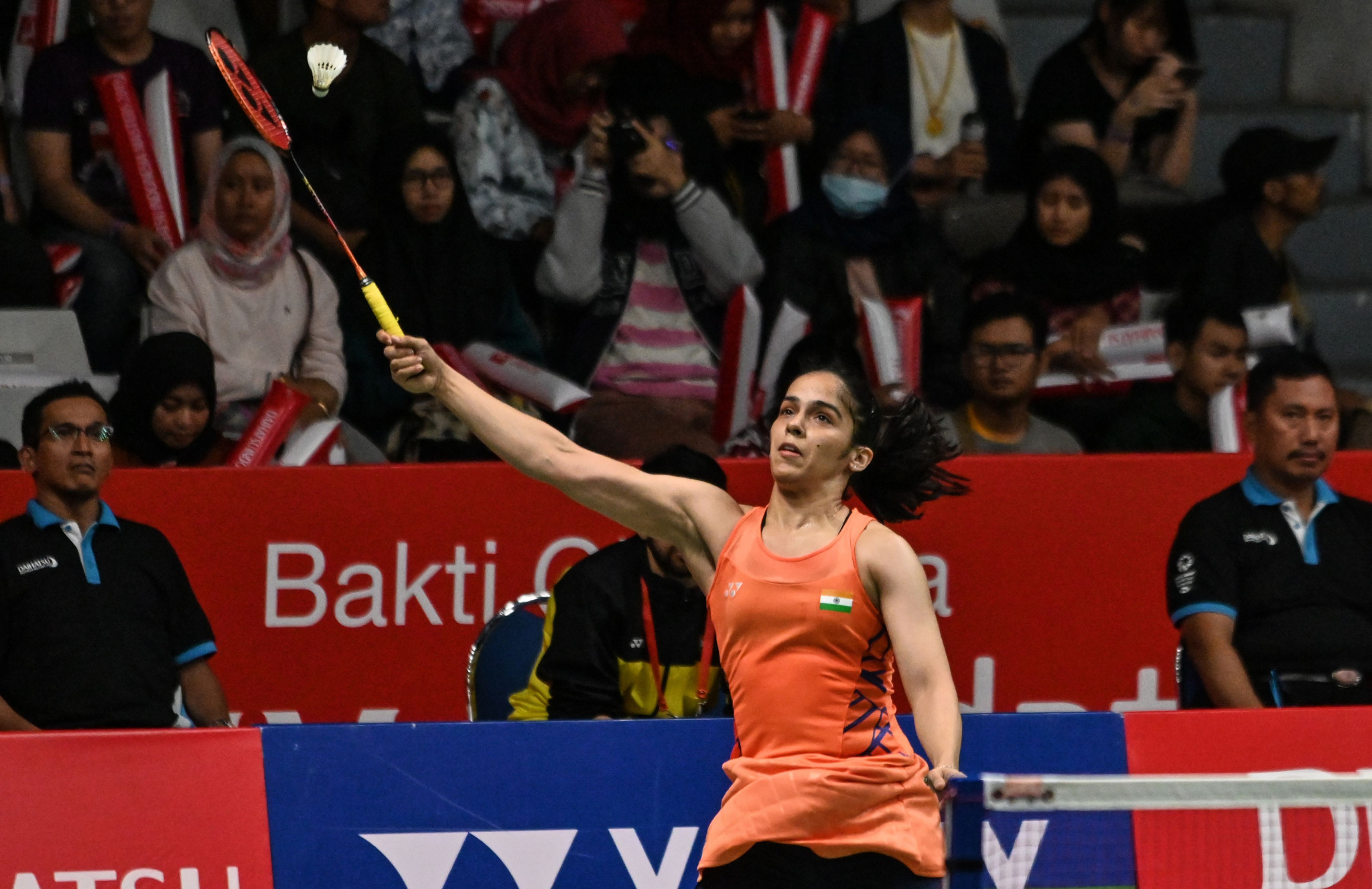 Saina Nehwal came from a game down to win her semi-final match at the BWF Indonesian Masters ©Getty Images
