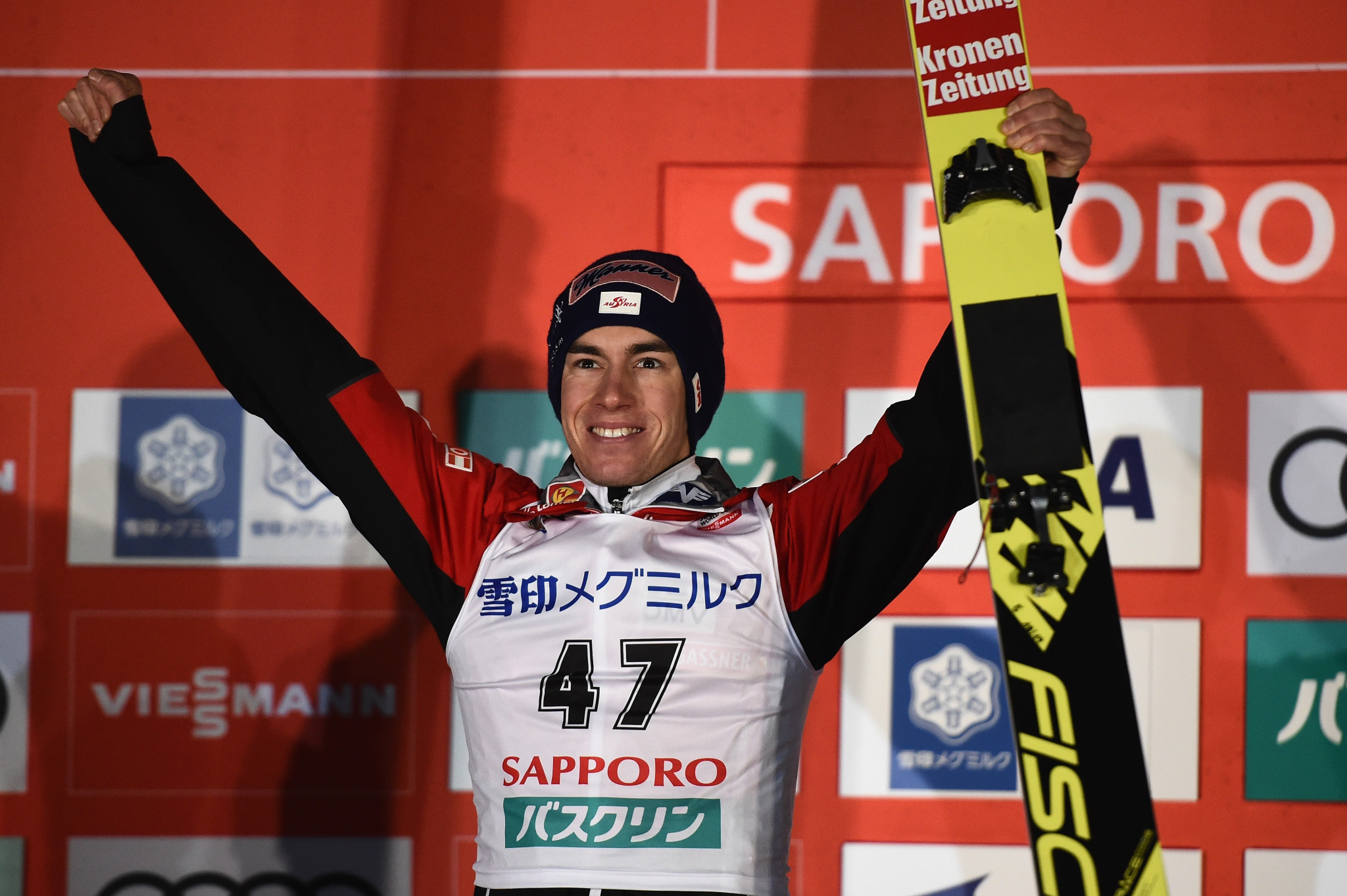 Kraft wins in Sapporo as Stoch sets new hill record at FIS Ski Jumping World Cup