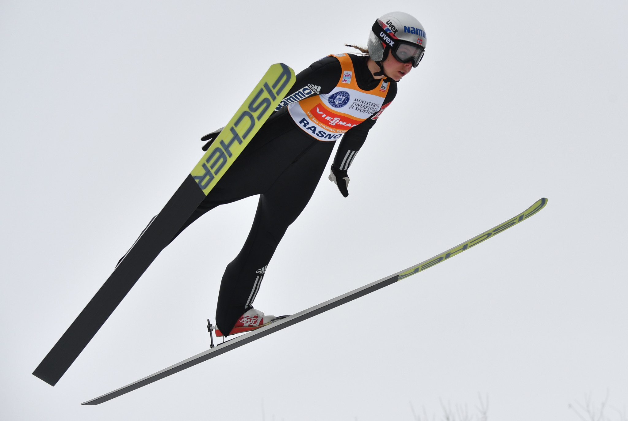 Reigning Olympic champion Maren Lundby won at the women's FIS Ski Jumping World Cup event in Rasnov ©Getty Images
