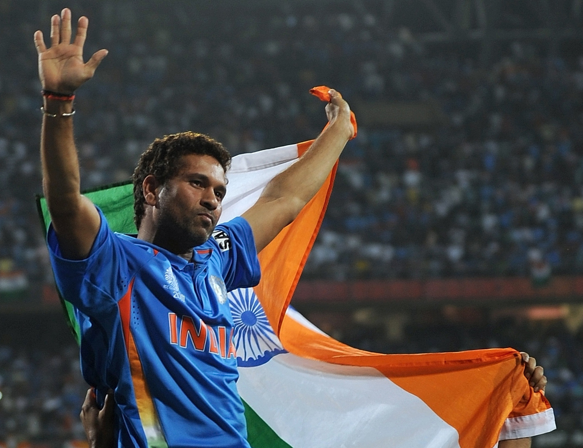 Sachin Tendulkar has suggested a short format of the game could feature at the Olympics ©Getty Images