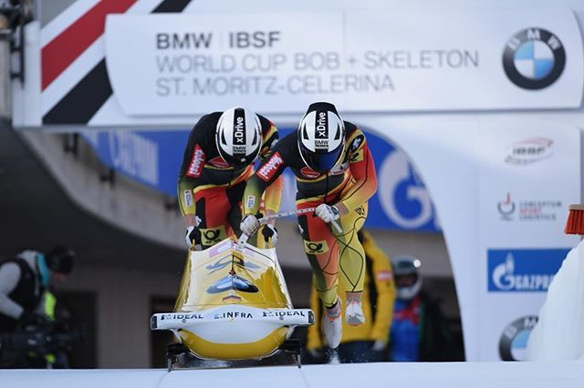 Friedrich continues streak with sixth two-man bobsleigh win at IBSF World Cup