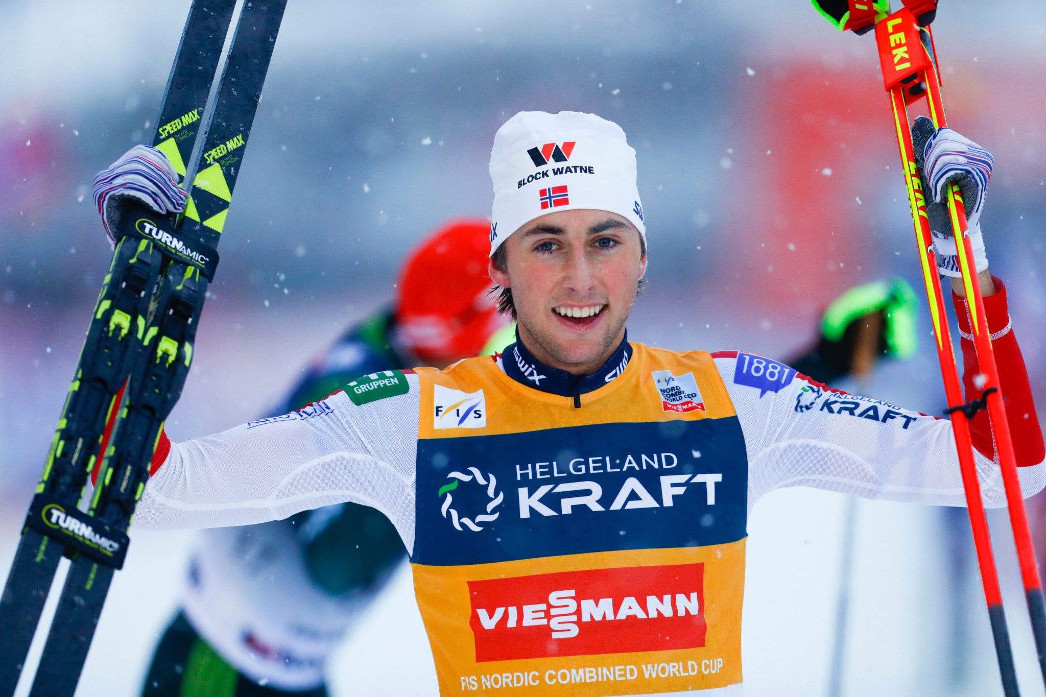 Riiber wins again at FIS Nordic Combined World Cup in Trondheim