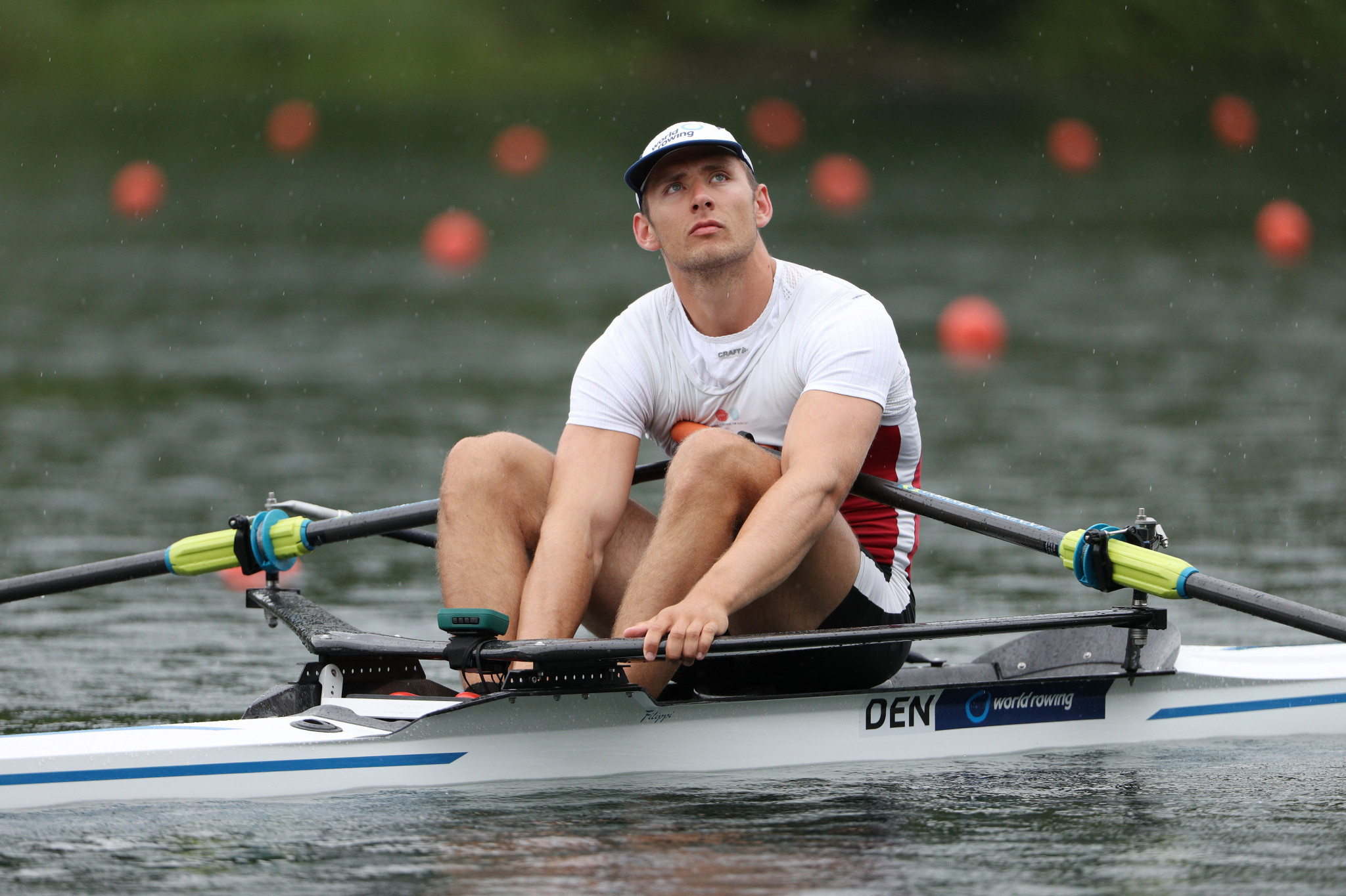 Sverri Nielsen earned gold at the European Indoor Rowing Championships ©Getty Images