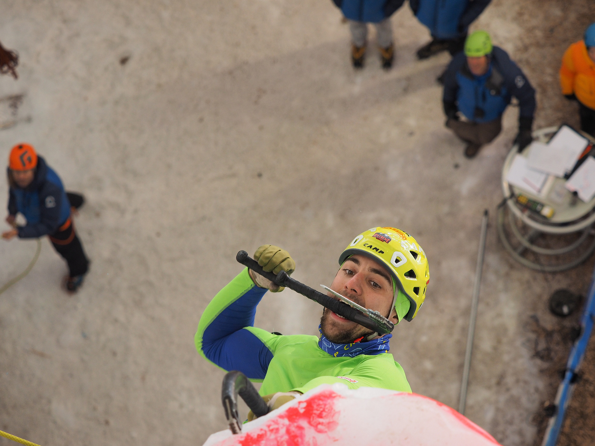 Lead finals conclude Ice Climbing World Cup in Switzerland